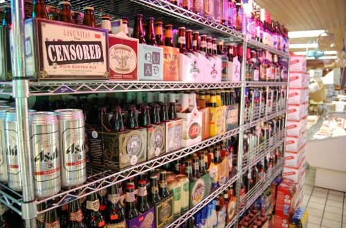 import beer selection