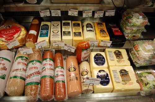 Boars Head and Citterio meats and cheese