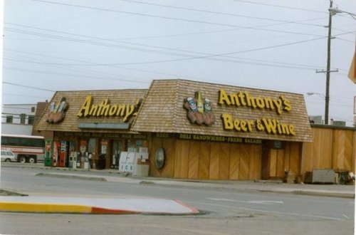 exterior shot Anthony's beer wine liquor Ocean City MD
