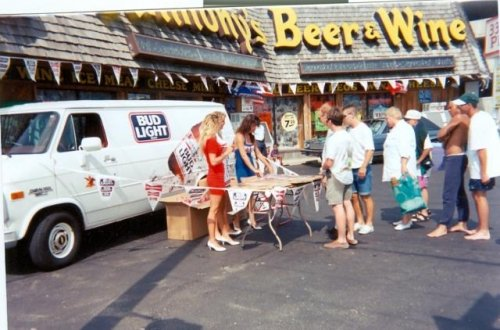 party at Anthony's beer wine liquor Ocean City MD