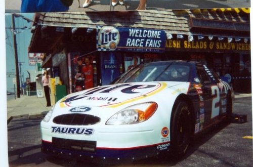 Miller Lite car at Anthony's beer wine liquor Ocean City MD